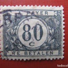 Timbres: +BELGICA 1922, SELLO DE TASA YVERT 42. Lote 207599661