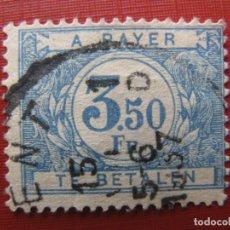 Timbres: +BELGICA 1922, SELLO DE TASA YVERT 48. Lote 207600315