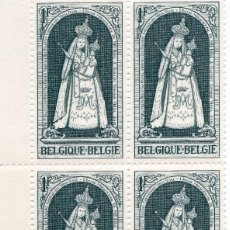 Sellos: BELGICA 1963 MNH, BLOQUE MICHEL 1493. Lote 209915643