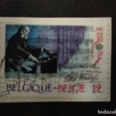 Sellos: BELGICA 1985.EUROPA (C.E.P.T.) 1985 - EUROPEAN YEAR OF MUSIC. MI:BE 2227,(364). Lote 210969162