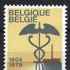 Sellos: BÉLGICA 1979 - 150º ANIVERSARIO DE LA CAMARA DE COMERCIO - MH*. Lote 214796580