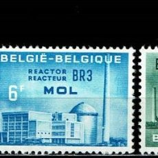 Sellos: BELGICA 1961 - THE EURATOM COOPERATION. Lote 217239373
