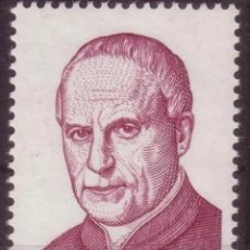 Sellos: BELGICA, N°1499 MNH, MONSEÑOR VICTOR SCHEPPERS 1969 (FOTOGRAFÍA REAL). Lote 243335425