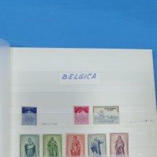 Sellos: SELLOS DE BÉLGICA - AÑOS 50 - 60 Y 70. Lote 219373252