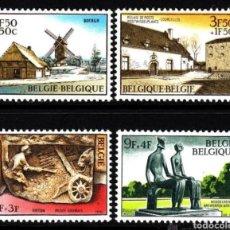 Sellos: BELGICA N°1532/35 MNH** SORTEO DE OBRAS CULTURALES 1970 (FOTOGRAFÍA ESTÁNDAR). Lote 265124029