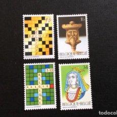 Sellos: BELGICA Nº YVERT 2592/5*** AÑO 1995. JUEGOS DE MESA.. Lote 222947302