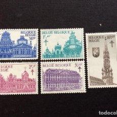 Sellos: BELGICA Nº YVERT 1354/8*** AÑO 1965. MONUMENTOS DE LA GRAN PLAZA DE BRUSELAS. Lote 223044180