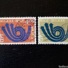 Timbres: BÉLGICA YVERT 1661/2 SERIE COMPLETA USADA 1973 EUROPA CEPT.. Lote 224692713