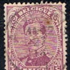 Sellos: BELGICA // YVERT 140 // 1915 ... USADO. Lote 226364815