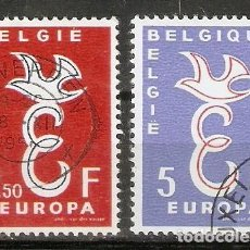 Sellos: BÉLGICA.1958. YT 1064,1065. EUROPA. Lote 228303580