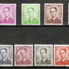 Sellos: BÉLGICA.1958-62. YT 1066/1075. SERIE INCOMPLETA.. Lote 228306805