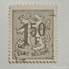 Sellos: BÉLGICA. SELLO USADO DE 1,5FR, DE 1969. ESCUDO DE BÉLGICA. ENVÍO GRATIS POR PEDIDOS DE 3€ O MÁS.. Lote 231736775