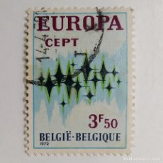 Sellos: BÉLGICA. SELLO USADO DE 3,50F, DE 1972. EUROPA. ENVÍO GRATIS POR PEDIDOS DE 3€ O MÁS.. Lote 231741010