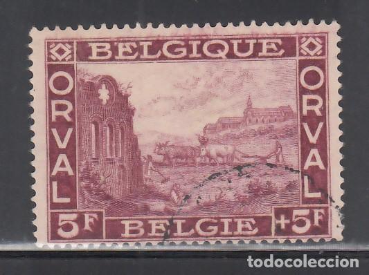 BELGICA, 1928 YVERT Nº 265, ABADÍA DE ORVAL (Sellos - Extranjero - Europa - Bélgica)