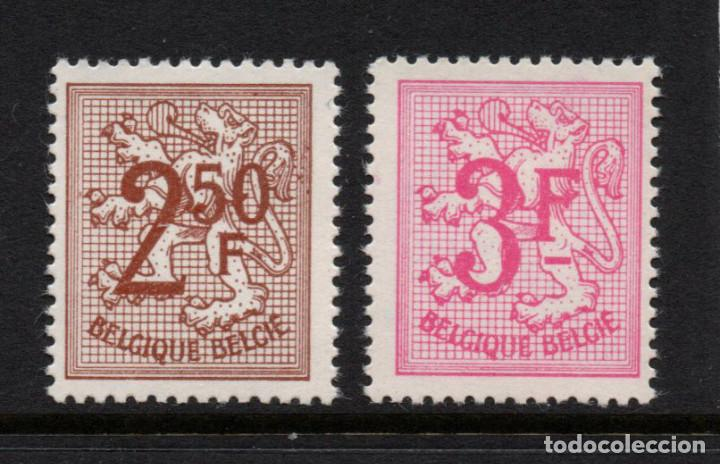 BELGICA 1544/45** - AÑO 1970 - LEON HERALDICO (Sellos - Extranjero - Europa - Bélgica)