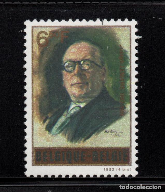 BELGICA 2047** - AÑO 1982 - CENTENARIO DEL NACIMIENTO DE JOSEPH LEMAIRE (Sellos - Extranjero - Europa - Bélgica)