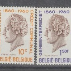 Sellos: BELGICA,1960.. Lote 236534405