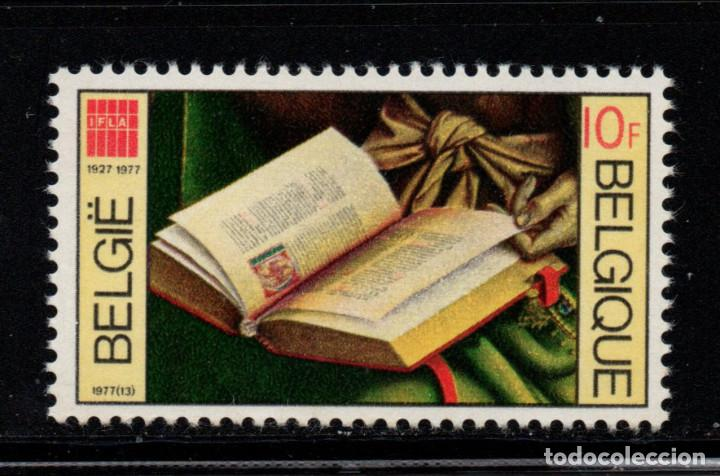 BELGICA 1857** - AÑO 1977 - 50º ANIVERSARIO DE LA FEDERACION INTERNACIONAL DE BIBLIOTECARIOS (Sellos - Extranjero - Europa - Bélgica)