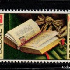 Sellos: BELGICA 1857** - AÑO 1977 - 50º ANIVERSARIO DE LA FEDERACION INTERNACIONAL DE BIBLIOTECARIOS. Lote 236587225