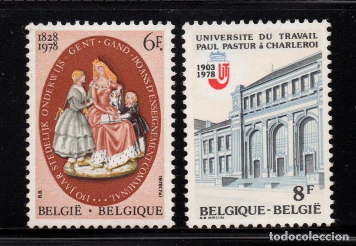 BÉLGICA 1900/01** - AÑO 1978 - LA ENSEÑANZA (Sellos - Extranjero - Europa - Bélgica)