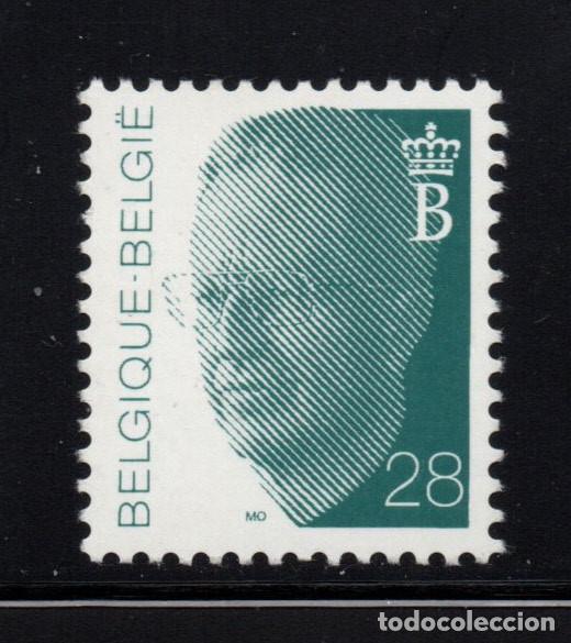 BELGICA 2473** - AÑO 1992 - REY BALDUINO I (Sellos - Extranjero - Europa - Bélgica)