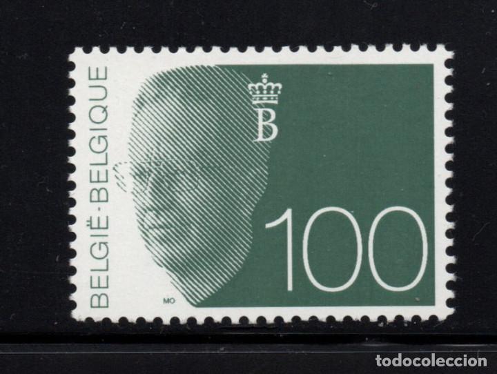 BÉLGICA 2481** - AÑO 1992 - REY BALDUINO I (Sellos - Extranjero - Europa - Bélgica)