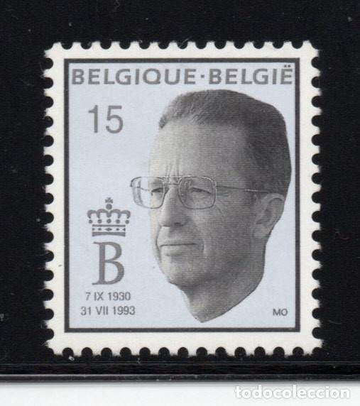 BELGICA 2520** - AÑO 1993 - MUERTE DEL REY BALDUINO I (Sellos - Extranjero - Europa - Bélgica)