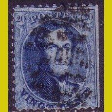 Sellos: BÉLGICA, 1858 LEOPOLDO I, IVERT Nº, 11 (O). Lote 236632830