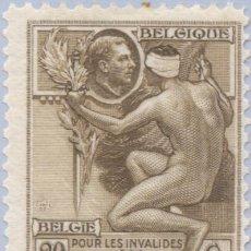 Sellos: SELLO USADO DE BELGICA 1922, YT 189. Lote 243594620