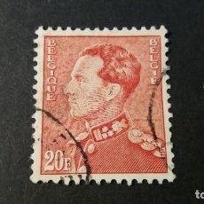 Timbres: SELLO BÉLGICA USADO. 1921. REY LEOPOLDO III. 15 DE FEBRERO DE 1951. YVERT: 848B.. Lote 247103535
