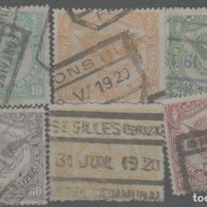 Sellos: LOTE (8) SELLOS BELGICA. Lote 254685735