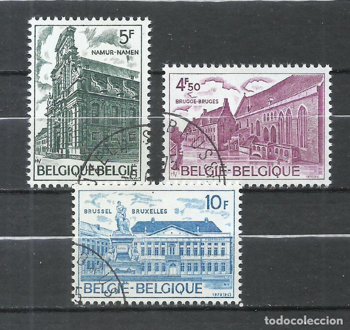 BELGICA - 1975 - MICHEL 1821/1823 - USADO (Sellos - Extranjero - Europa - Bélgica)