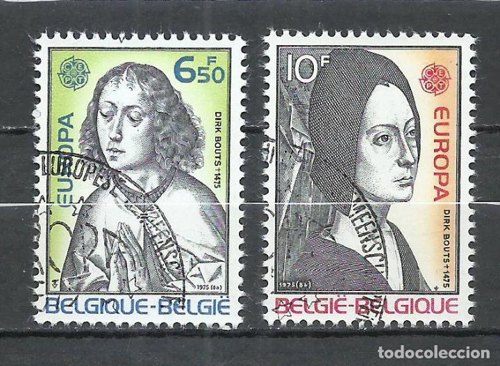 BELGICA - 1975 - MICHEL 1818/1819 - USADO (Sellos - Extranjero - Europa - Bélgica)