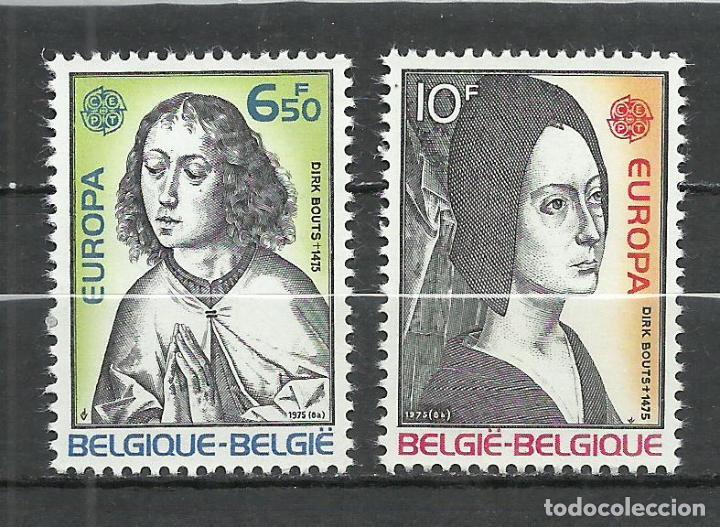 BELGICA - 1975 - MICHEL 1818/1819** MNH (Sellos - Extranjero - Europa - Bélgica)