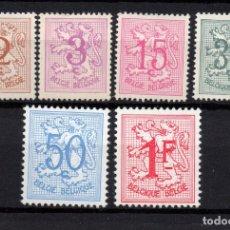 Sellos: BÉLGICA 1026A/27B** - AÑO 1957 - ESCUDO DE BELGICA. Lote 260994430