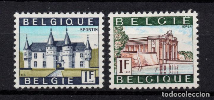 BÉLGICA 1423A/24A** - AÑO 1967 - TURISMO - PAISAJES Y MONUMENTOS (Sellos - Extranjero - Europa - Bélgica)