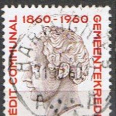 Sellos: BELGICA // YVERT 1162 // 1960 ... USADO. Lote 263190740