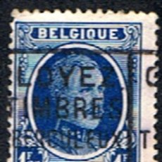 Sellos: BELGICA // YVERT 206 // 1921-27 ... USADO. Lote 263190960