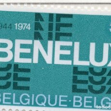 Sellos: BELGICA, 1974 STAMP , MICHEL 1775. Lote 269684178