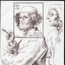 Sellos: BELGICA, 1969 STAMP , MICHEL BL39. Lote 269992183