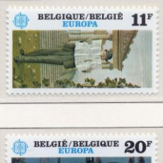 Sellos: BELGICA, 1983 STAMP , MICHEL 2144-2145. Lote 269992418