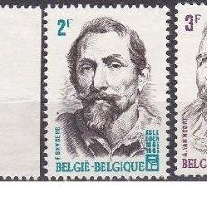 Sellos: LOTE SELLOS ANTIGUOS DE BELGICA - FIGURAS HISTORICAS - (ENVIO COMBINADO COMPRA MAS). Lote 276653518