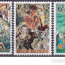 Sellos: LOTE SELLOS ANTIGUO DE BELGICA - PINTURA - (ENVIO COMBINADO COMPRA MAS). Lote 276658508