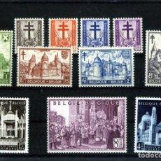 Sellos: SELLOS DE BELGICA(SERIES 868/875-876/878)-NUEVOS CON FIJA SELLOS MUY LEVES-GOMA ORIGINAL .. Lote 276673473