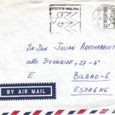 Sellos: CORREO AEREO: BELGICA 1977. Lote 277152573