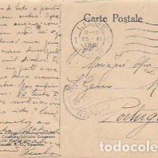 Sellos: BELGICA & CIRCULADO, SERIE DEL CONCURSO ERNEMANN 1911 DRESDEN, LIEGE A RESENDE PORTUGAL 1912 (545. Lote 277222143