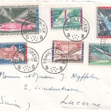 Sellos: BÉLGICA - SELLOS EXPOSICIÓN UNIVERSAL DE BRUSELAS - AÑO 1958. Lote 278559388
