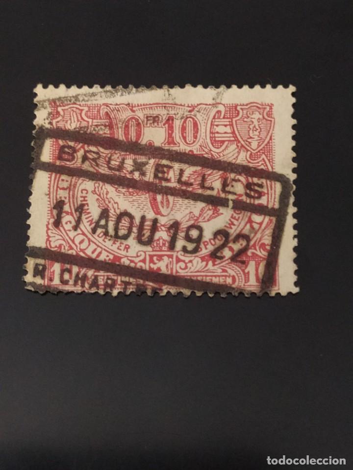 ## BÉLGICA USADO 1922 0,10F## (Sellos - Extranjero - Europa - Bélgica)