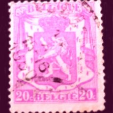 Sellos: BÉLGICA BE 422 - BÉLGICA - 1936 - SMALL COAT OF ARMS. Lote 289434178