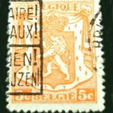 Sellos: BÉLGICA BE PRE476 - BÉLGICA - 1942 - SMALL COAT OF ARMS. Lote 289435043